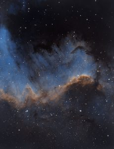 """The Great Wall"" im Nordamerika Nebel (NGC 7000)"
