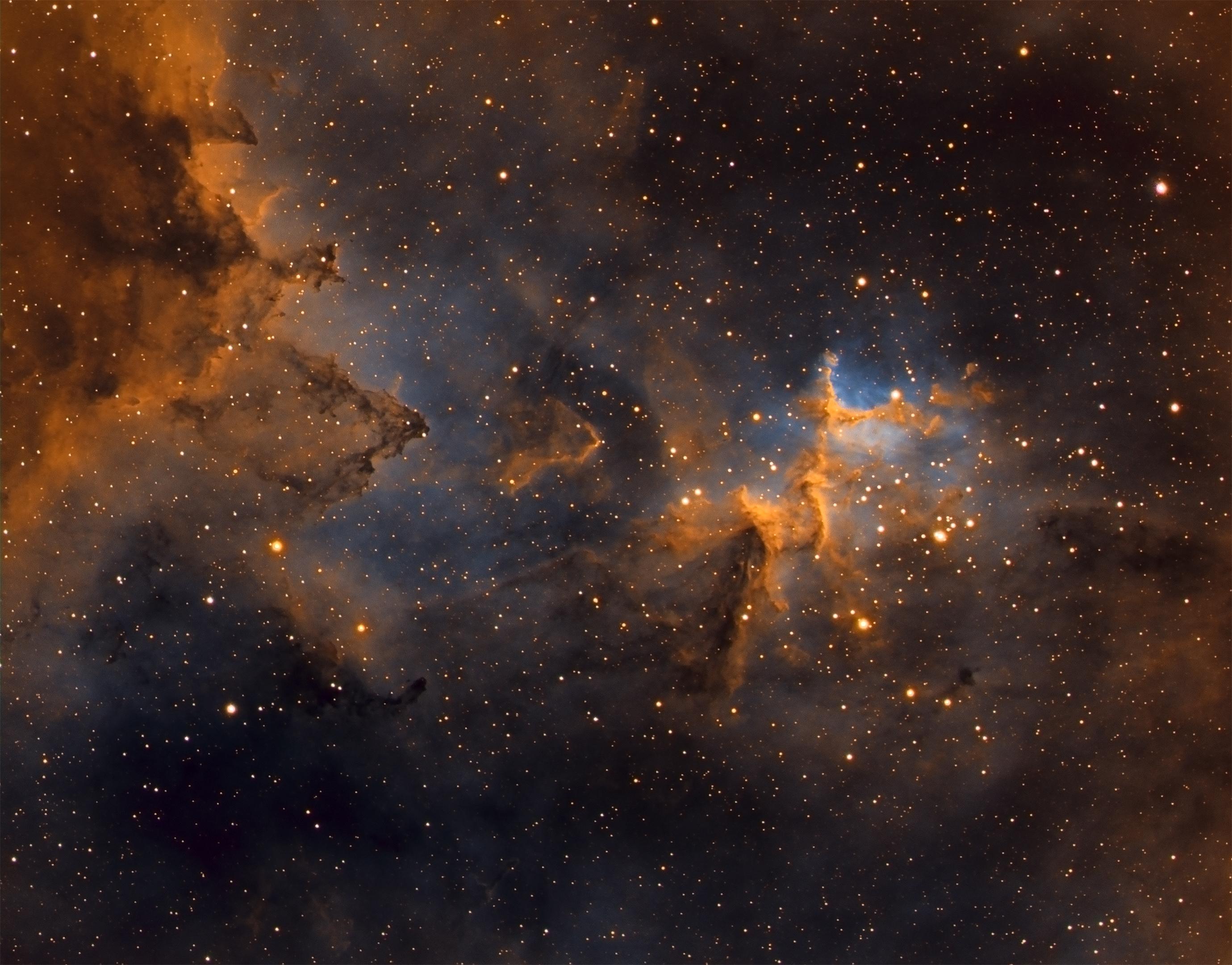Emissionsnebel IC 1805