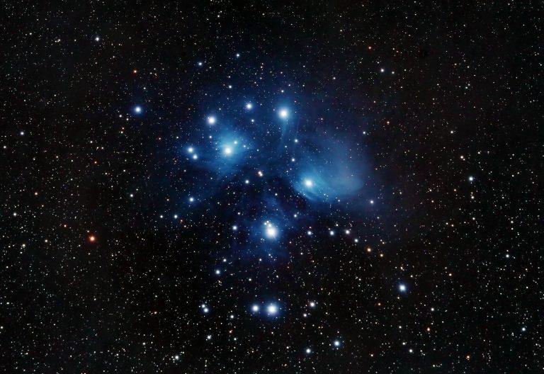 Plejaden (M45 / Siebengestirn)