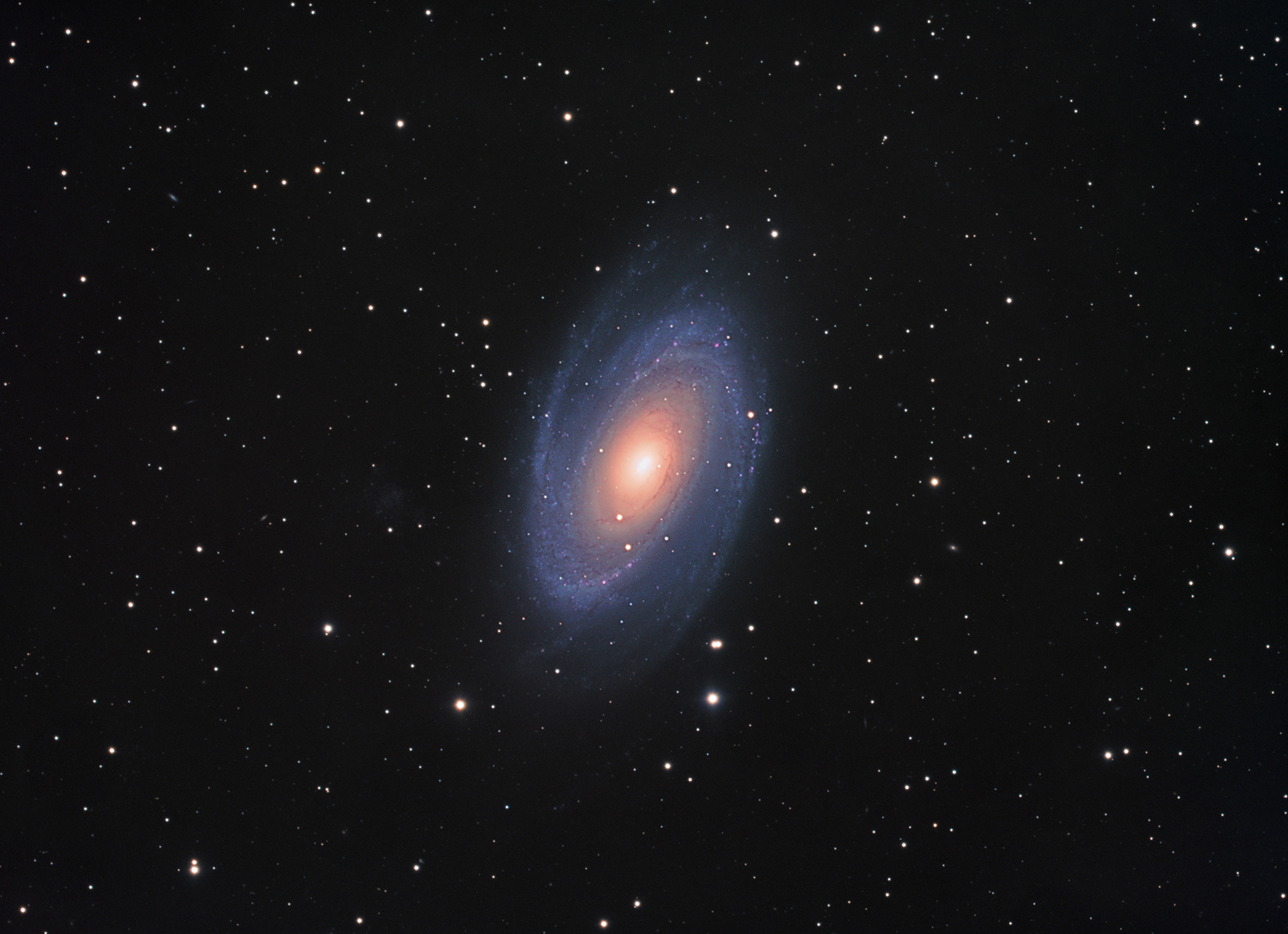 Galaxie Messier 81
