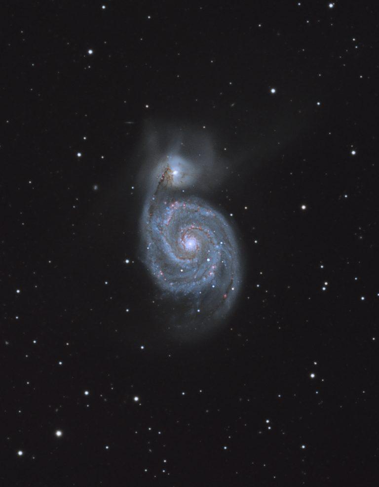 Whirlpool-Galaxie M51