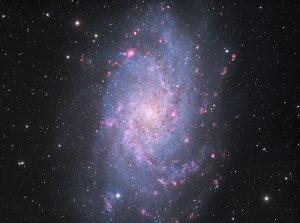 Spiralgalaxie M33